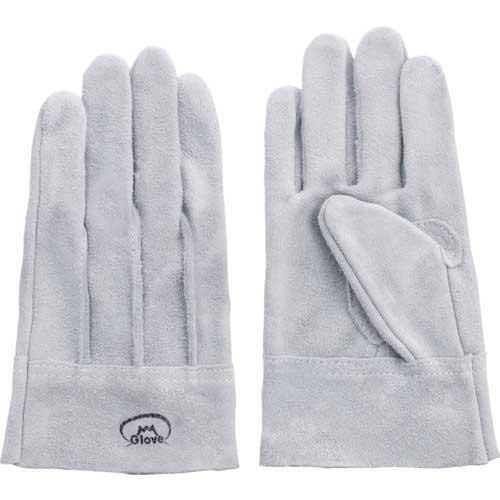 【まとめ買い】富士グローブ 牛床革手袋 #6フジマーク L 1602【10双入り】