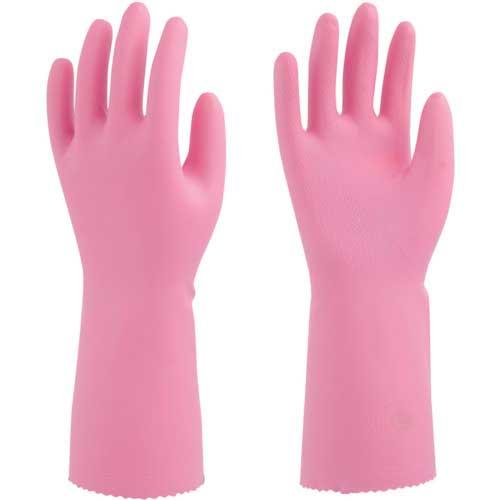 【まとめ買い】ビニスター 塩化ビニール手袋 ソフトエース バイオレット M 736-M【10双入り】